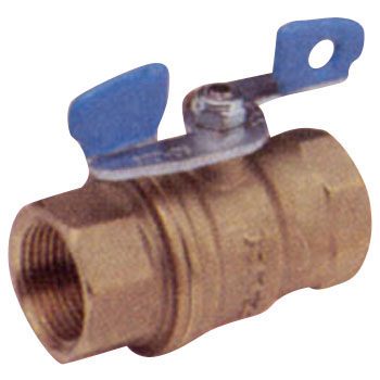 600 Brass Ball Valve, Full Bore And Butterfly-Shaped HandlesZt Series