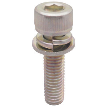 Hexagon socket head bolt (cap screw) equal 3 (SW + ISOW built-in) (iron / Uniqlo) (pack product)