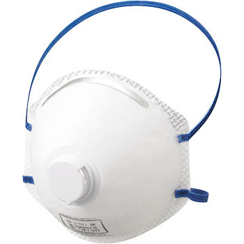 Clean Guard M10Ds2 Respirator Mask, With Exhaust Valve