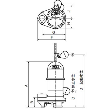 Submersible pump for sewage water Norrath