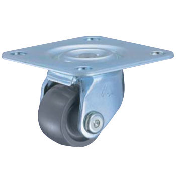 Swivel Caster, Low and Heavy, Reinforcement Nylon Wheel, 420TP
