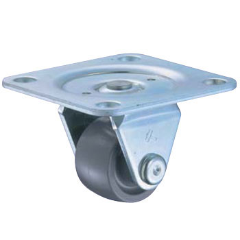 Rigid Caster, Low and Heavy Load, Reinforcement Nylon Wheel, 420TPR