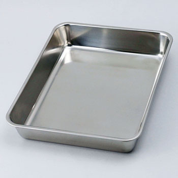 18-8 Deep Type Square Tray