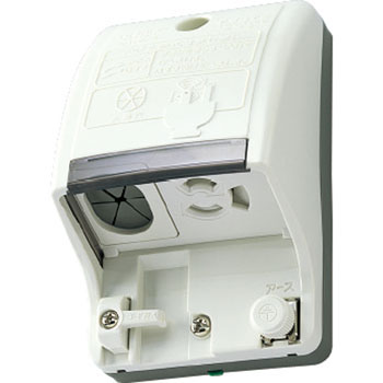 Ground waterproof outlet with a ground terminal (with incoming line function)
