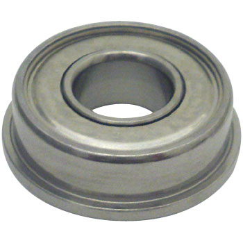 DDRIF radial deep groove ball bearing shield type with flange (inch size)