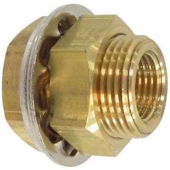 JUNRON Brass Fittings Panel Union