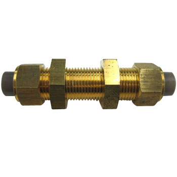 Junlon Brass Fittings Bulkhead Union