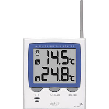 Wireless Multi Channel Thermometer