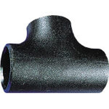 Weld type pipe fittings with same diameter cheese