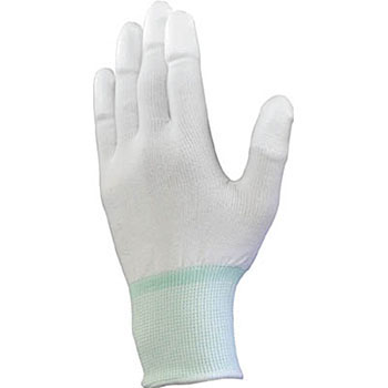 Knitted Gloves With PU Coated Fingertips