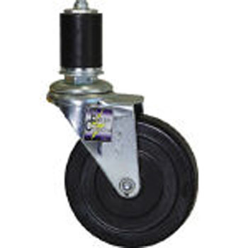 Castors for pipe systems Anti-electrostatic prevention type