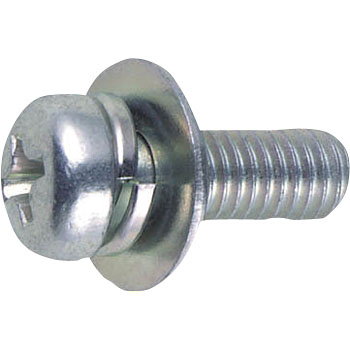 Pan Head Screw Thread P-3,Trivalent White