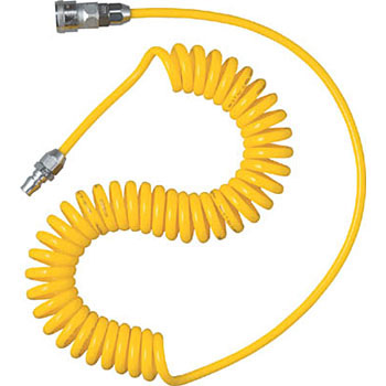 Spiral Air Hose With Coupling