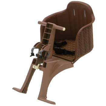 Rattan-Like Front Child Bicycle Seat