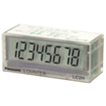Total electronic counter (P plate mounting type)