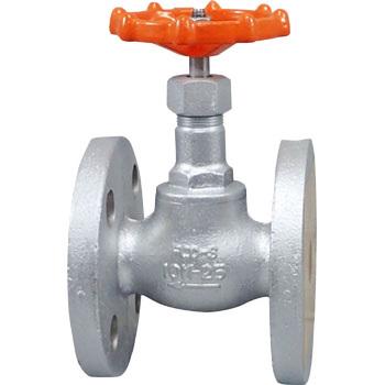 10K ductile cast iron globe valve (flange type)