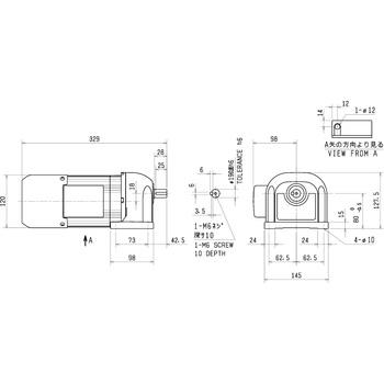 gm-sb-0 4kw-1/30 geared motor gm-s series mitsubishi electric [monotaro  thailand] 37756363