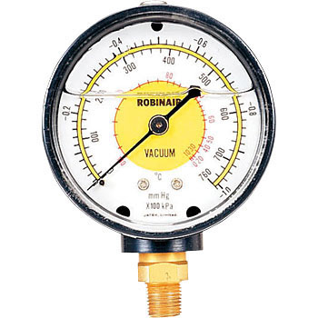 Vacuum gauge (oil sealed)