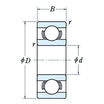 Miniature ball bearing open type