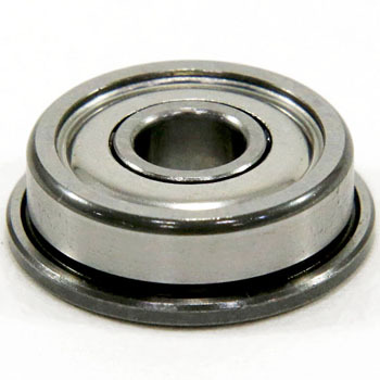 Flanged Miniature Ball Bearing, Single Row Deep Groove Ball Bearings