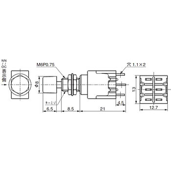 Push Button Switch M Series