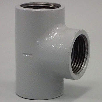 Tee Resin Coating Pipe Fittings for Water Supply