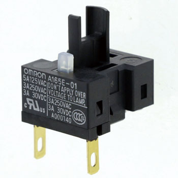 Emergency stop switch (Φ16) switch unit A165E