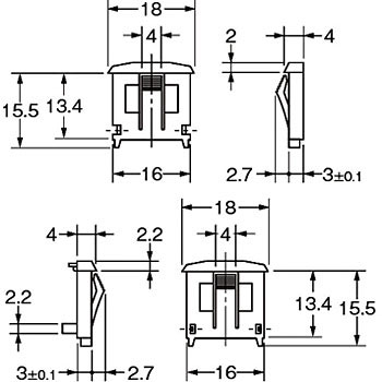 For Sam rotary switch mounting plate A7CN / A7CN-L OMRON ... Omron D Nl Wiring Diagrams on