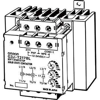 G3j T217bl Dc12 24 Solid State Contactors For Three Phase Motor