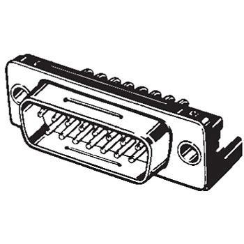 Xm3c 0922 D Sub Connector Plug Dip L Type Terminal Xm 3 C Omron
