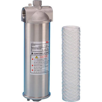 Cuno particulate removal water treatment filter system