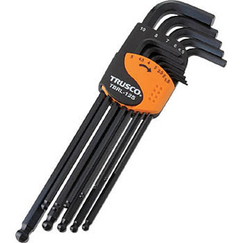 Ball point hex key wrench set,long type