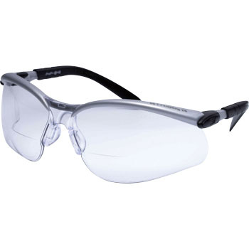 Safety Glasses With BX Magnifying Glass