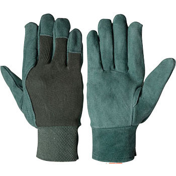Cowhide leather oil processing gloves