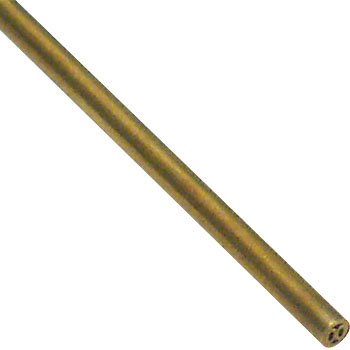 Copper coreless pipe 8 hole tube
