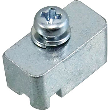 D-sub connector fitting fixed base (rectangular)
