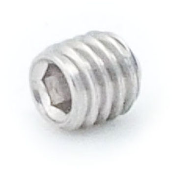 Hex Set Screw, Cup Point, SUS316L