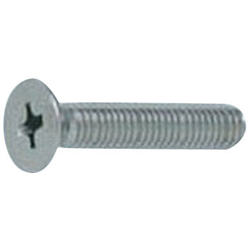 (+) Countersunk screw (stainless steel / black) (small box)