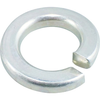 Spring Washer, Iron, Trivalent White, Heavy Duty