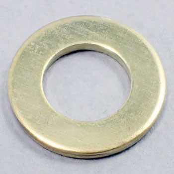 ISO Round Washer, Brass