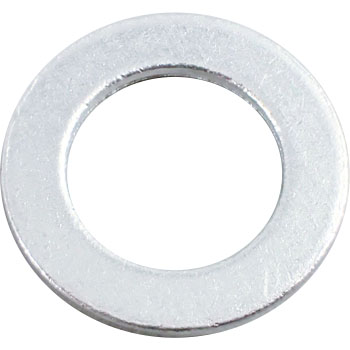Round Washer, Large, Aluminum A1050, Pack Product