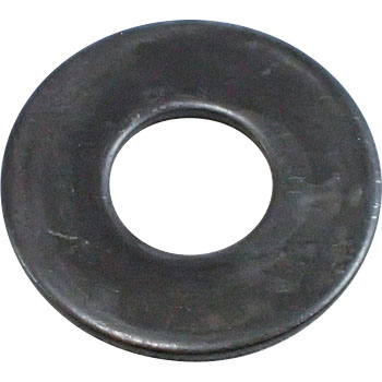 Round Washer, Large, Stainless Steel, Black, Pack Product