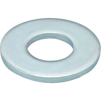 Round Washer, Large, Iron, Uni Chromate
