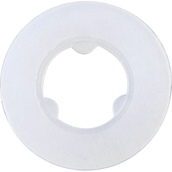 Nylon Set Washer, White, Pack Product