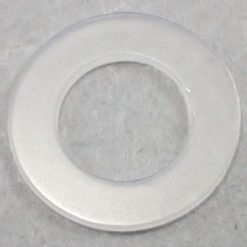 Nylon Round Washer, Small, Pack Product