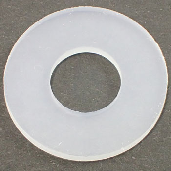 Round Washer, Silicone Rubber, Pack Product