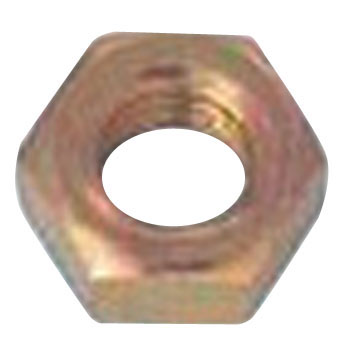 Hexagon nut 1 kind wit (iron / fabric)