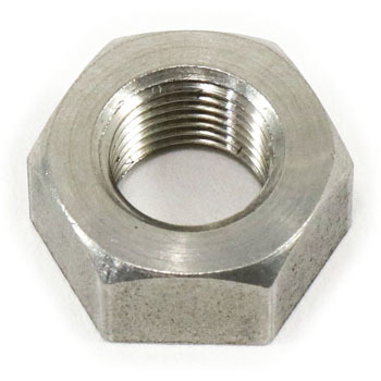 Hex Nut, Fine Thread, Stainless Steel