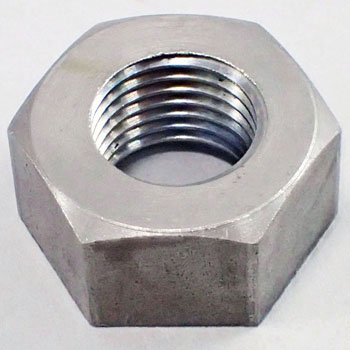 Hex Nut, Left Hand Thread, Iron