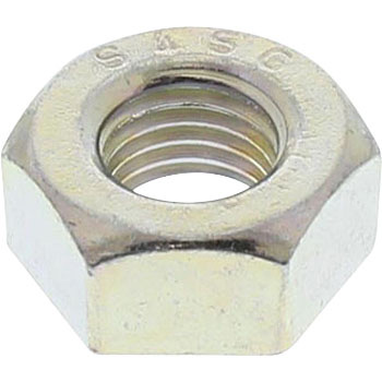 Hex Nut Fine Pitch, S45C H, Trivalent Chromate, Pack Product
